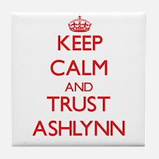 Keep Calm and TRUST Ashlynn Tile Coaster