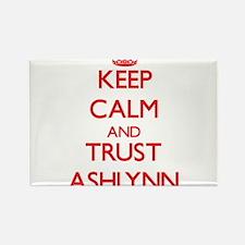 Keep Calm and TRUST Ashlynn Magnets