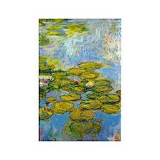 iPadS Monet WL1919 Rectangle Magnet