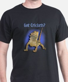 Bearded Dragon Black T-shirt II