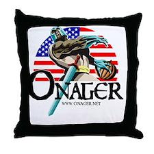 Onager Team USA -LG2012-a Throw Pillow