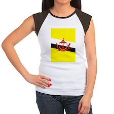 Brunei (iPh4 half) Women's Cap Sleeve T-Shirt