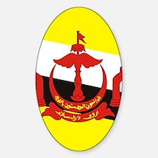 Brunei (iPad) Sticker (Oval)