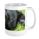 Mutt Face Large Mug