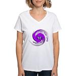 Lupus Awareness Women's V-Neck T-Shirt
