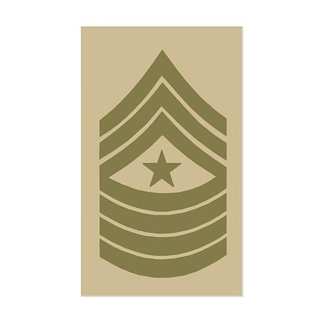 Sergeant Major Sticker 3