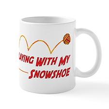Playing Snowshoe Mug