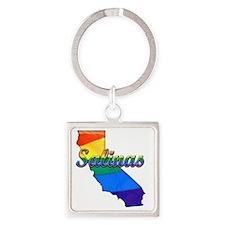 Salinas Square Keychain