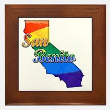 San Benito Framed Tile