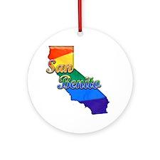 San Benito Round Ornament