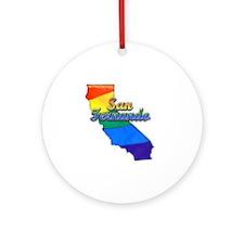 San Fernando Round Ornament