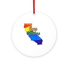 San Carlos Round Ornament