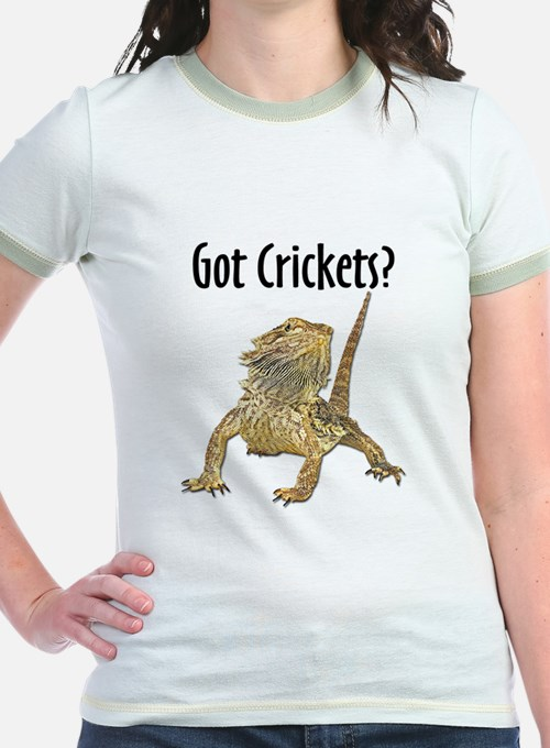 Bearded Dragon Got Crickets T