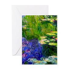 iPadS Monet WL19 Greeting Card