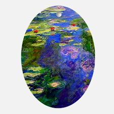 K/N Monet WL19 Oval Ornament