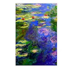 K/N Monet WL19 Postcards (Package of 8)