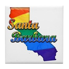 Santa Barbara Tile Coaster
