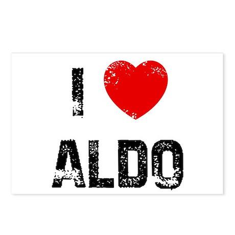 I * Aldo Postcards (Package of 8)