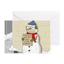 snowbum1 Greeting Card
