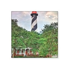 "Lighthouse 1 Square Sticker 3"" x 3"""