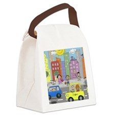 kidny puzzle Canvas Lunch Bag