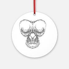 2000x2000monkey3 Round Ornament