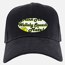 WALLYBY SQUASH_front Baseball Hat