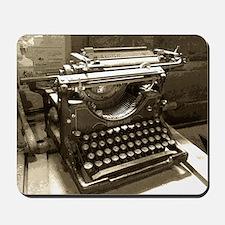Typewriter Mousepad