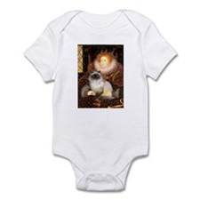 Queen & Himalayan cat Infant Bodysuit