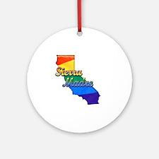 Sierra Madre Round Ornament