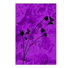purple forest journal Postcards (Package of 8)