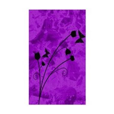 purple forest journal Decal