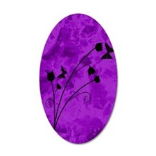 purple forest journal Wall Decal