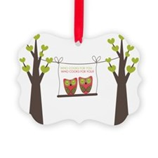 whocooks Ornament