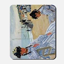 K/N Monet Trouville Mousepad