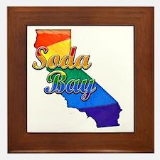 Soda Bay Framed Tile