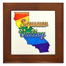 Squaw Valley Framed Tile