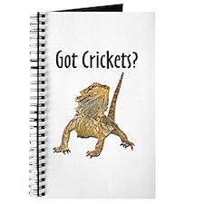 Bearded Dragon Got Crickets Journal