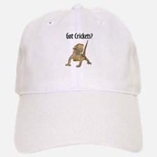 Bearded Dragon Got Crickets Baseball Baseball Cap