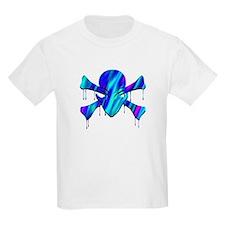 Alien Jolly Roger Melting 2 Kids T-Shirt