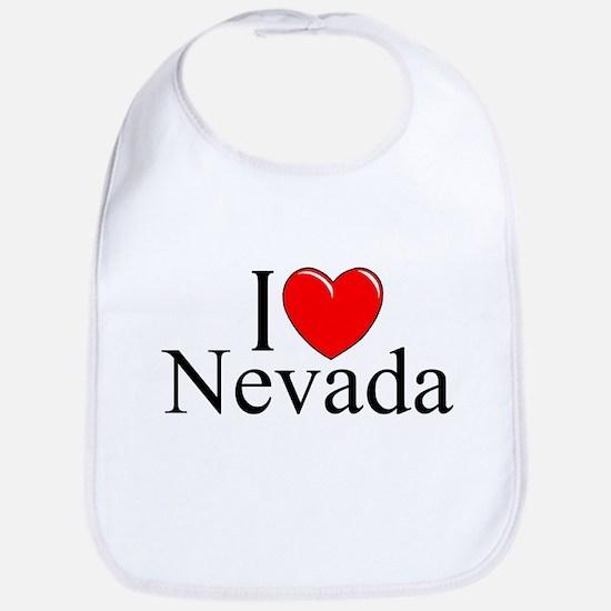 """I Love Nevada"" Bib"