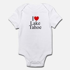 """I Love Lake Tahoe"" Infant Bodysuit"