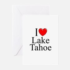 """I Love Lake Tahoe"" Greeting Cards (Pk of 10)"