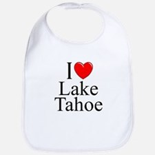 """I Love Lake Tahoe"" Bib"
