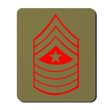 Sergeant Major<BR>Mousepad 2