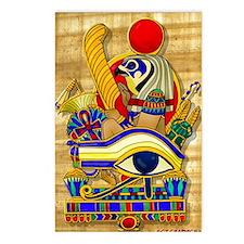 eye-of-horus-w-bg Postcards (Package of 8)