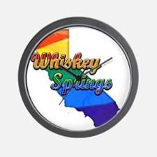 Whiskey Springs Wall Clock
