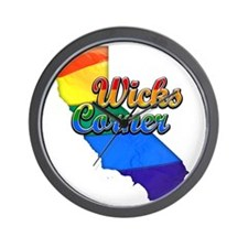 Wicks Corner Wall Clock
