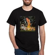 Fairies & Himalayan cat T-Shirt