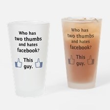 Dislike Drinking Glass